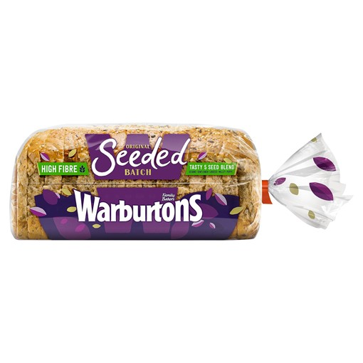 Picture of Warburtons Original Seeded Batch 400g