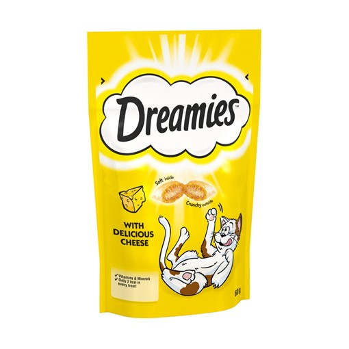 Picture of Dreamies Adult 1+ Cat Treats with Cheese 60g