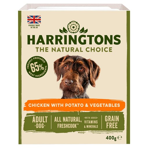 Picture of Harringtons Chicken & Veg Adult Wet Dog Food 400g