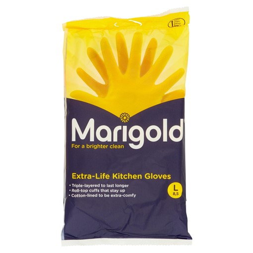 Picture of Marigold Extra-Life Kitchen Gloves L 8,5 1 Pair