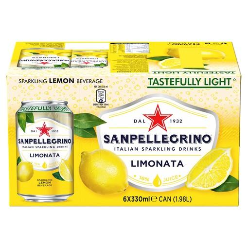 Picture of San Pellegrino Lemon 6x330ml