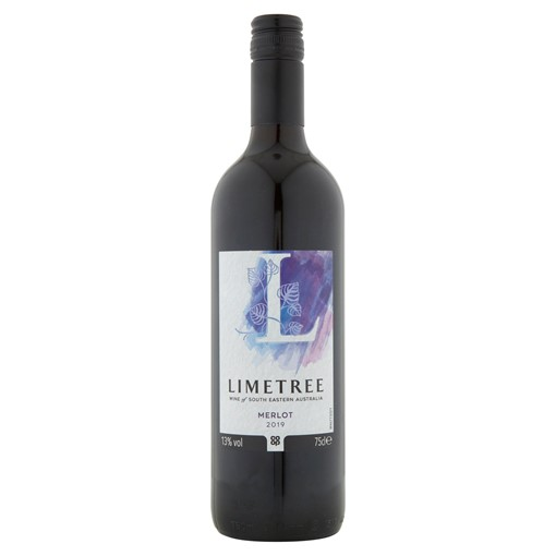 Picture of Co-op Lime Tree Merlot 75cl