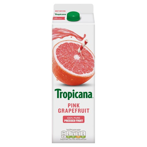 Picture of Tropicana Pink Grapefruit Juice 950ml