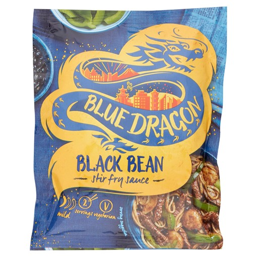 Picture of Blue Dragon Black Bean Stir Fry Sauce 120g