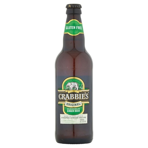 Picture of Crabbie's Original Alcoholic Ginger Beer 500ml