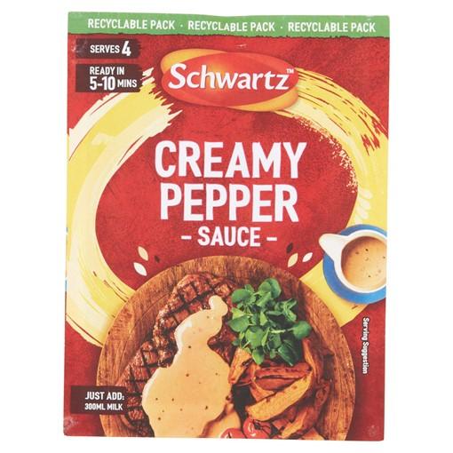 Picture of Schwartz Creamy Pepper Sauce Mix 25g
