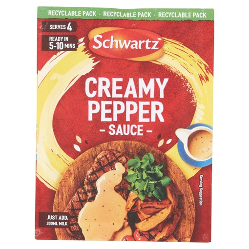 Picture of Schwartz Creamy Pepper Sauce Mix 25g