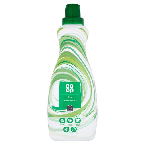 Picture of Co-op Bio Laundry Liquid 32 Washes 980ml
