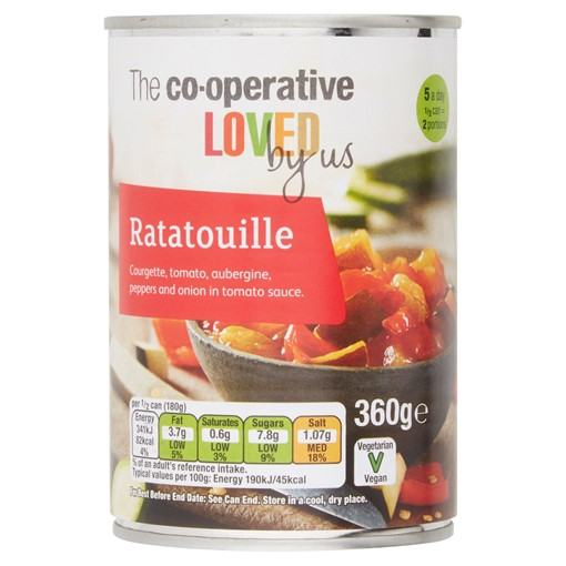 Picture of Co-op Loved by Us Ratatouille 360g