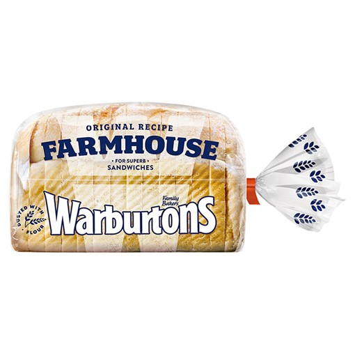 Picture of Warburtons Farmhouse Soft Bread 400g