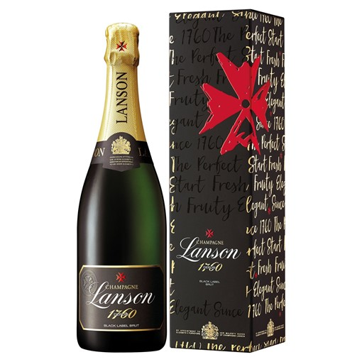 Picture of Lanson Black Label Champagne Gift B
