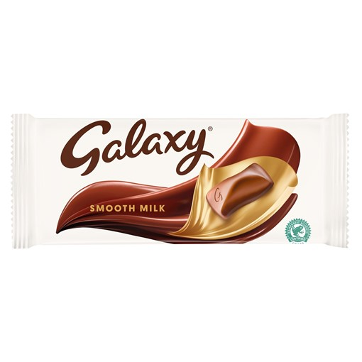 Picture of Galaxy Smooth Milk Chocolate More to Share Bar 200g