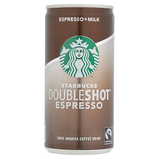 Picture of Starbucks DoubleShot Espresso Iced Coffee 200ml