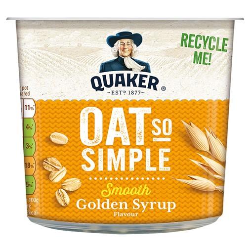 Picture of Quaker Oat So Simple Golden Syrup Porridge Pot 57g
