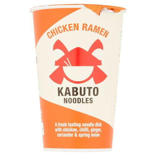 Picture of Kabuto Noodles Chicken Ramen 85g