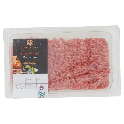 Picture of Co-op Irresistible Hereford Beef Mince