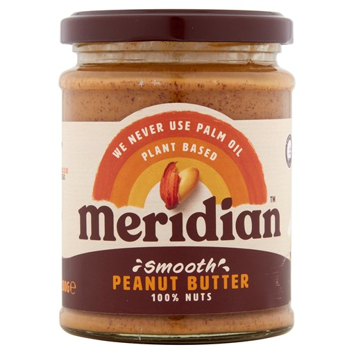 Picture of Meridian Smooth Peanut Butter 280g Jar