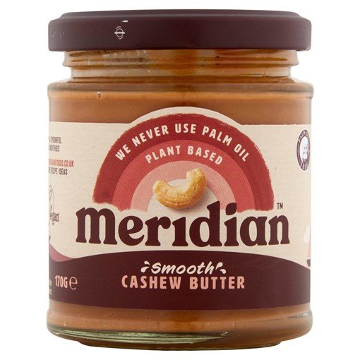 Picture of Meridian Smooth Cashew Butter 170g Jar