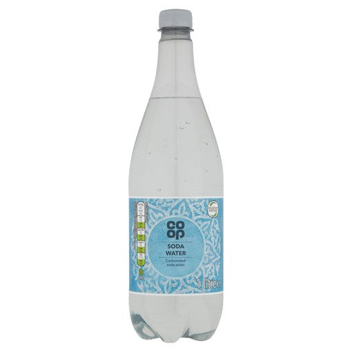 Picture of Co-op Soda Water 1 Litre