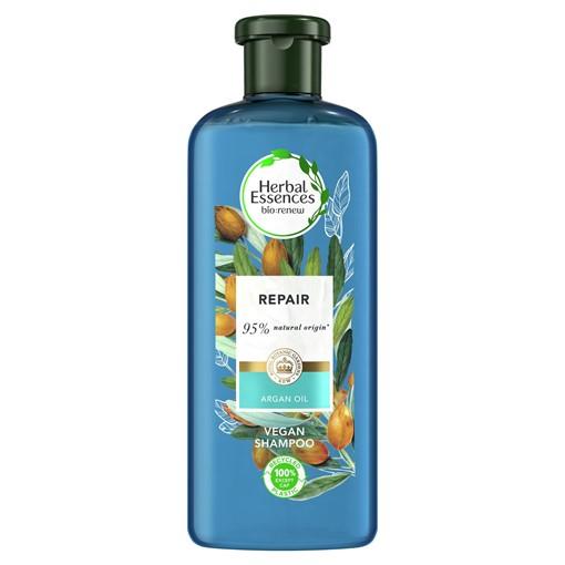 Picture of Herbal Essences Argan Oil Repairing Vegan Shampoo, For Dry, Damaged Hair