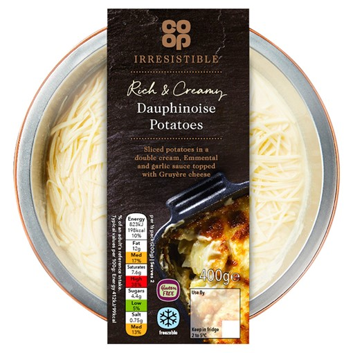 Picture of Co-op Irresistible Dauphinoise Potatoes 400g