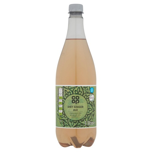 Picture of Co-op Diet Ginger Ale 1 Litre