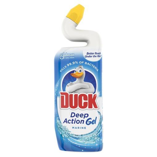 Picture of Duck Toilet Deep Action Gel Liquid Cleaner Marine 750ml