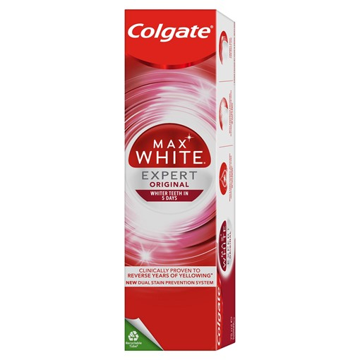 Picture of Colgate Max White Expert Original Whitening Toothpaste 75ml