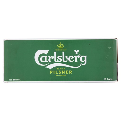 Picture of Carlsberg Lager Beer 18 x 440ml