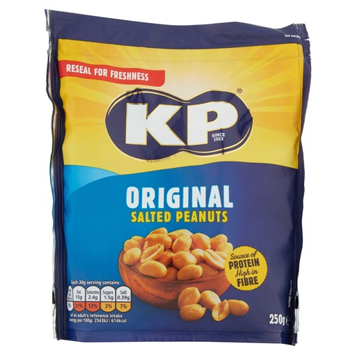 Picture of KP Original Salted Peanuts 250g