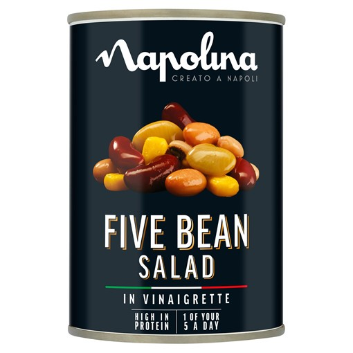 Picture of Napolina Five Bean Salad in Vinaigrette 400g