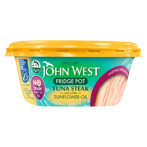 Picture of John West No Drain Tuna Steak MSC with a Little Sunflower Oil 110g