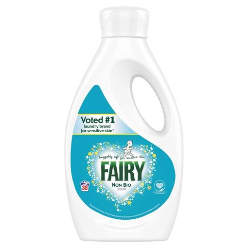 Picture of Fairy Non Bio Washing Liquid 1.33L 38 Washes