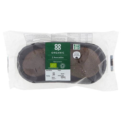 Picture of Co-op Organic 2 Avocados