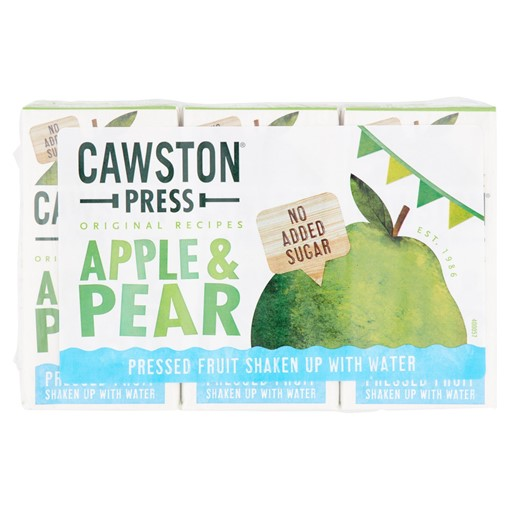 Picture of Cawston Apple and Pear Fruit Water 3 x 200ml