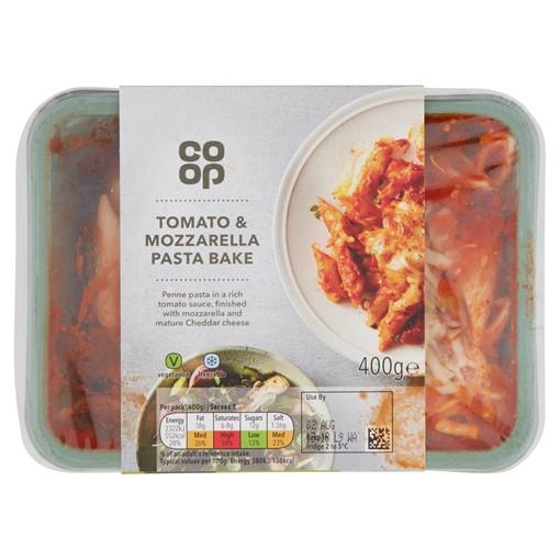 Picture of Co-op Tomato & Mozzarella Pasta Bake 400g