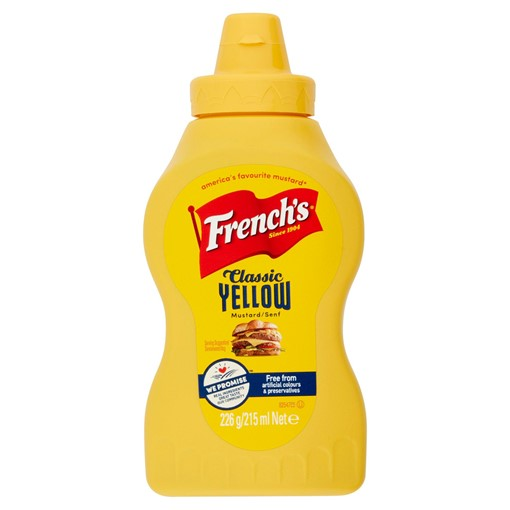 Picture of French's Classic Yellow Mustard 226g
