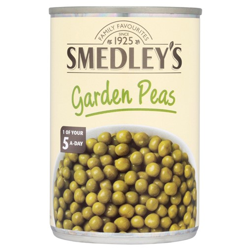 Picture of Smedley's Garden Peas in Water 300g
