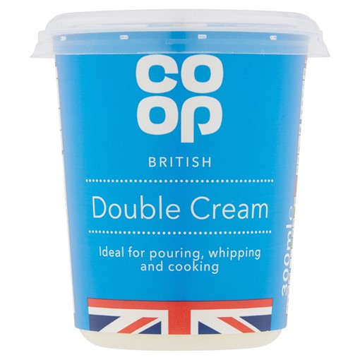 Picture of Co Op British Double Cream 300ml