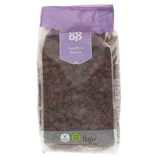 Picture of Co Op Seedless Raisins 1kg