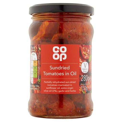 Picture of Co Op Sundried Tomatoes in Oil 280g