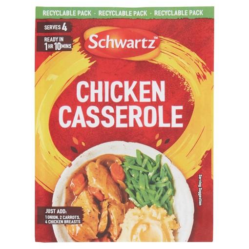 Picture of Schwartz Chicken Casserole Recipe Mix 36g