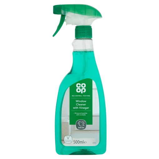 Picture of Co-op Window Cleaner with Vinegar 500ml