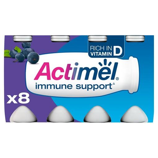 Picture of Actimel Blueberry Yogurt Drink 8 x 100g (800g)