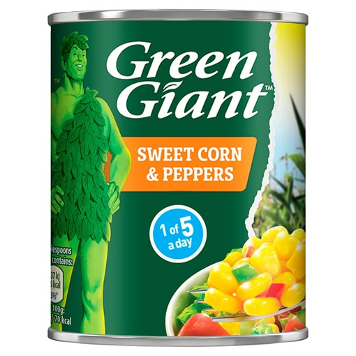 Picture of Green Giant Sweet Corn & Peppers 198g