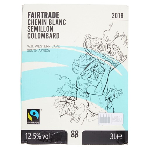 Picture of Co-op Fairtrade Chenin Blanc Semillon Colombard 3L