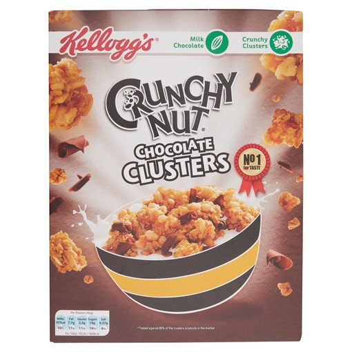 Picture of Kellogg's Crunchy Nut Clusters Chocolate 450g