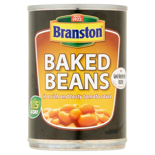 Picture of Branston Baked Beans in a Rich and Tasty Tomato Sauce 410g