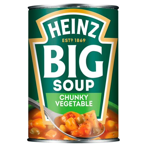 Picture of Heinz Big Soup Chunky Vegetable 400g