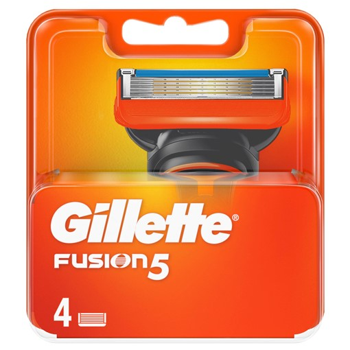 Picture of Gillette Fusion5 Razor Blades For Men, 4 Refills